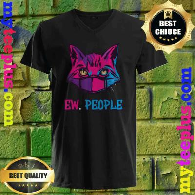 Cat Surgical Mask Cat Lover Ew People v neck