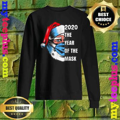 Funny Santa,'2020 the year of the mask' Classic Sweatshirt