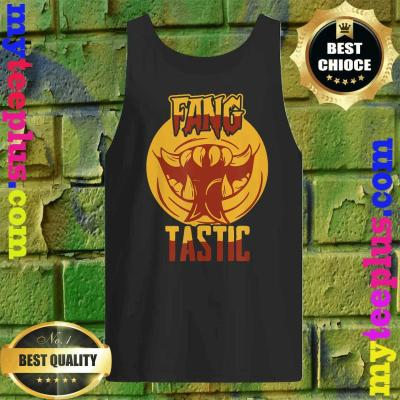 Halloween Vampire You are Fangtastic Funny Tank top