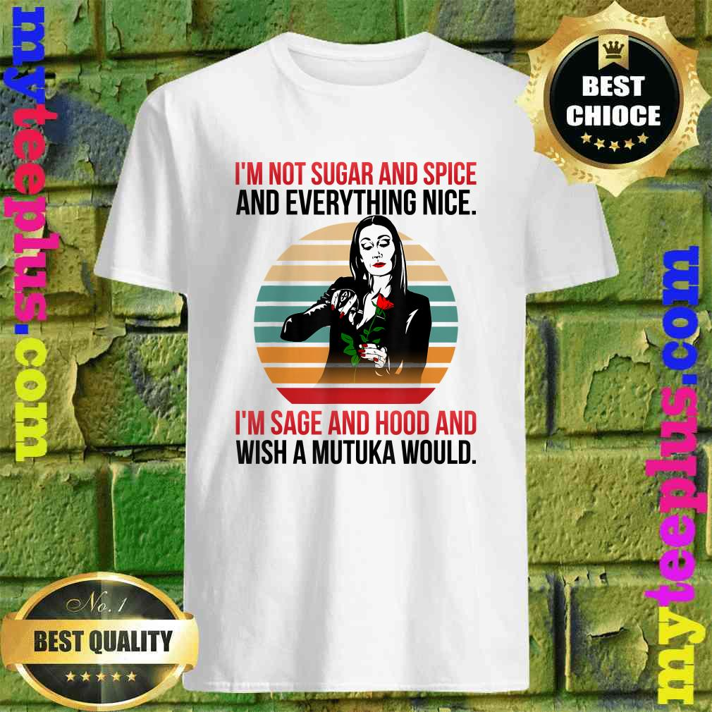 I'm Not Sugar And Spice And Everything Nice I'm Sage T-Shirt