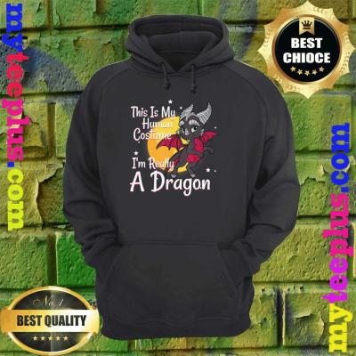 This Is My Human Costume I'm Really A Dragon hoodie