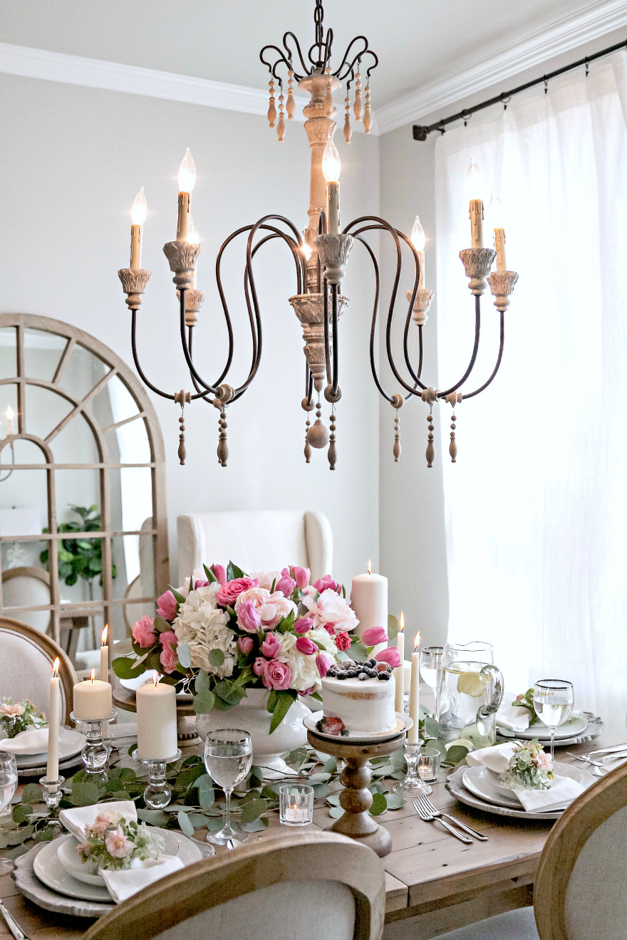 French Country Dining Room Makeover With Joss Amp Main My Texas House