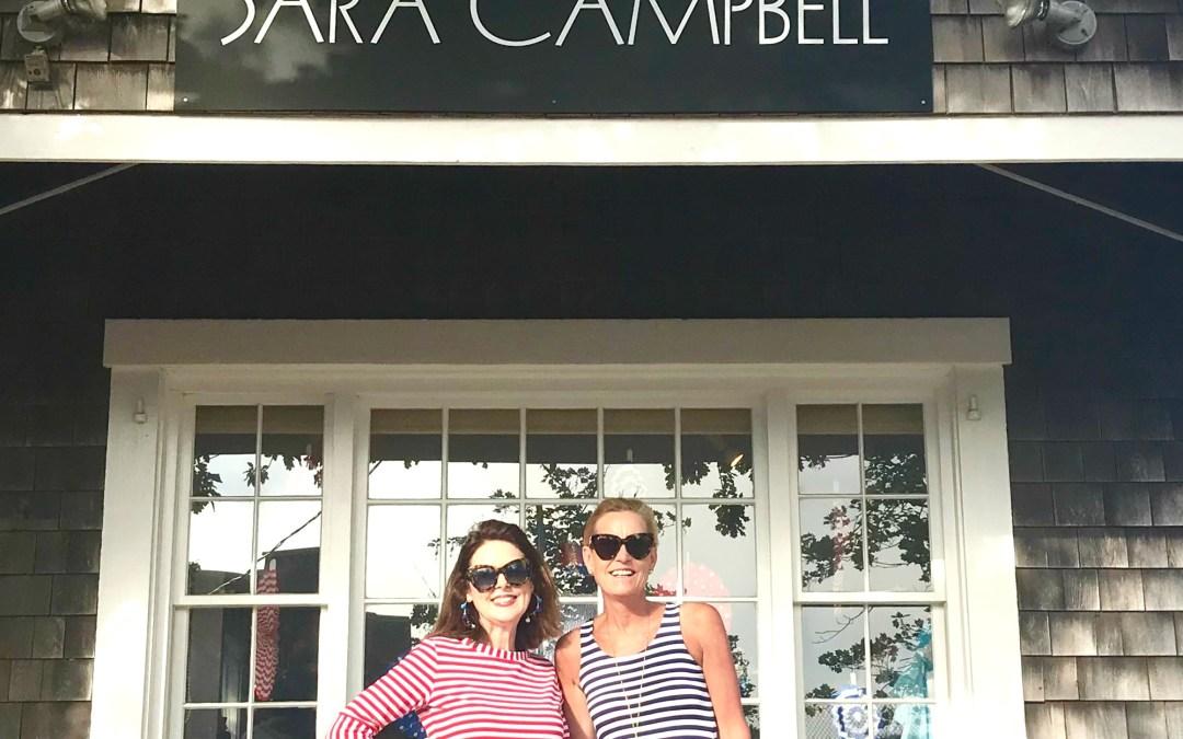 Touring Sarah Campbell's Nantucket Shop