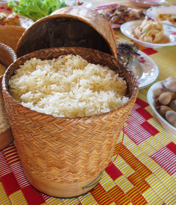 Sticky Rice in Isaan