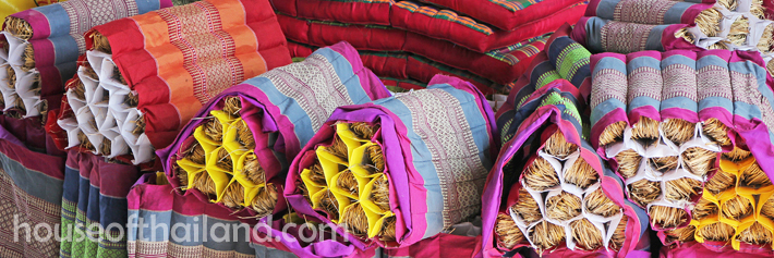Thai Triangle Pillows