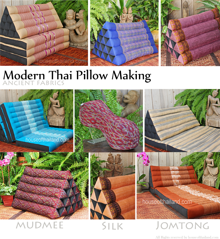 Modern Thai Pillow Making