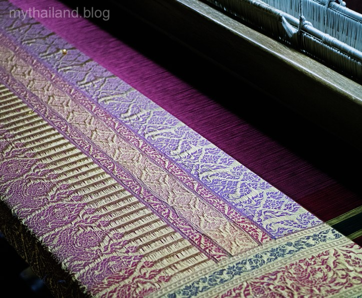 Brocaded Thai Silk