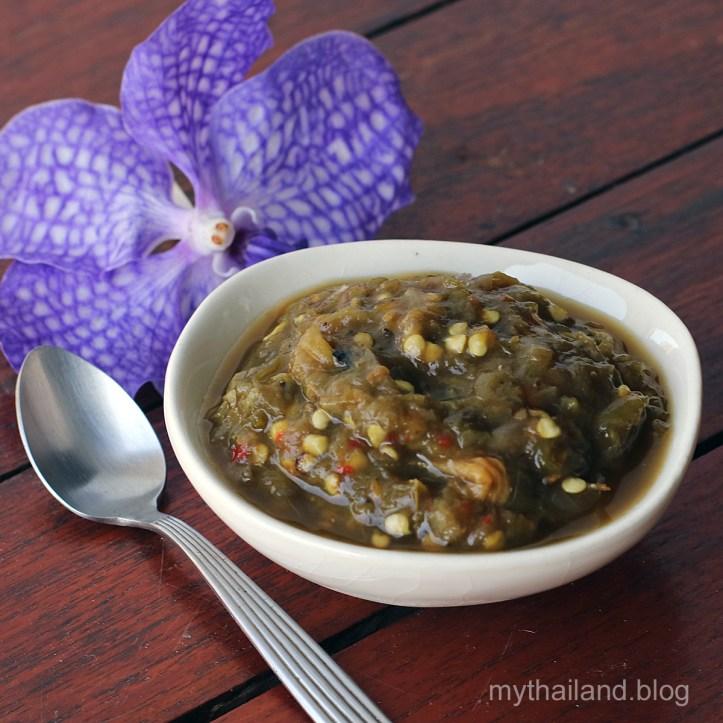Northern Thai Food. Nam Prik Noom