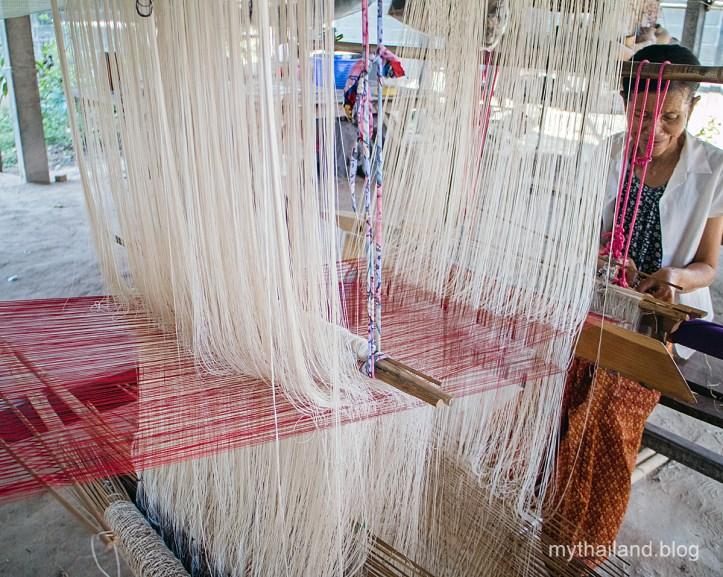 The complexity of Praewa silk.