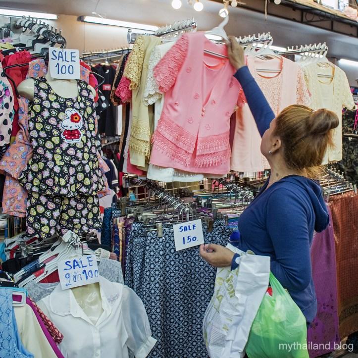 Shopping at Pratunam Market