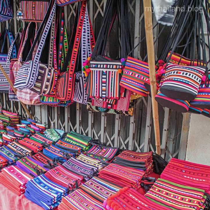 Hill Tribe purses and bags.