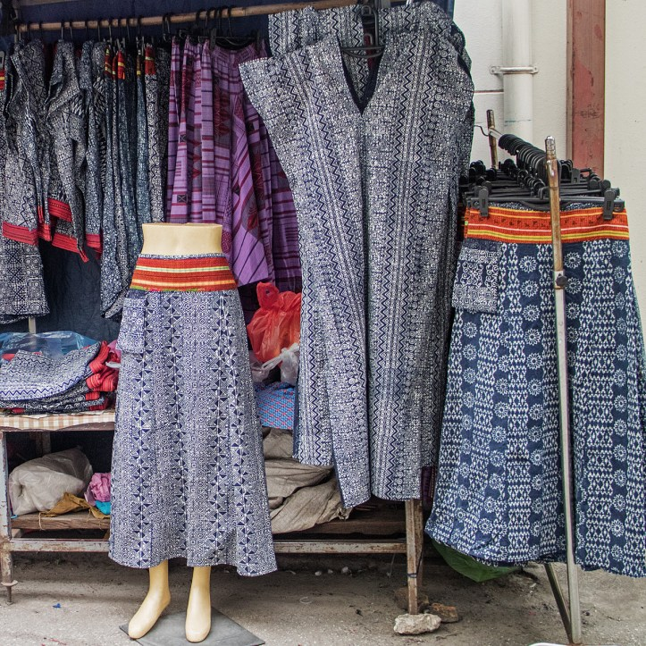 Hill Tribe and Boho style apparel in Chiang Mai