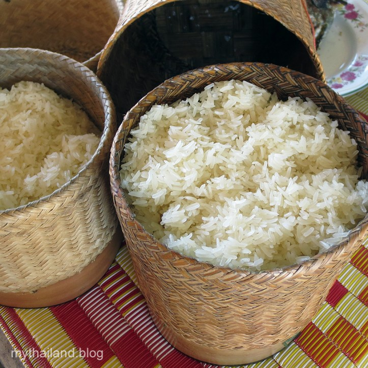 Thai Table Manners-Sticky Rice