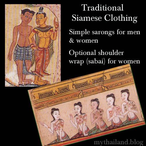 Traditional Siamese Clothing