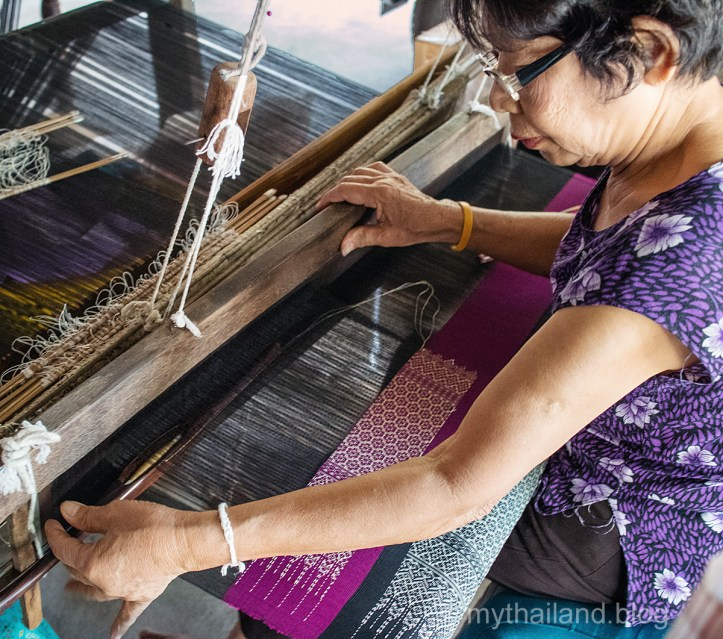 Intro to Thai Fabrics-Lamphun Silk