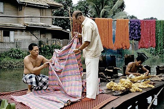 An Intro to Thai Fabrics-Thai silk