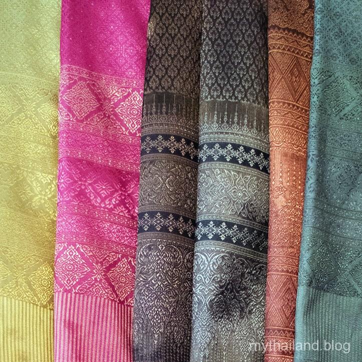Sukhothai handwoven Thai silk