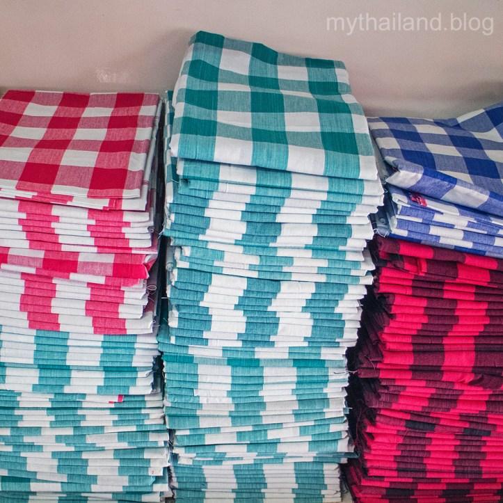 Thai men's sarong: pa kao ma