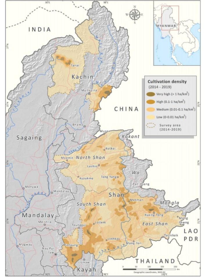 Opium Cultivation in Burma 2019