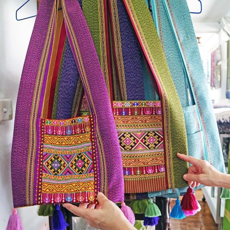 Hill Tribe handbag yaam