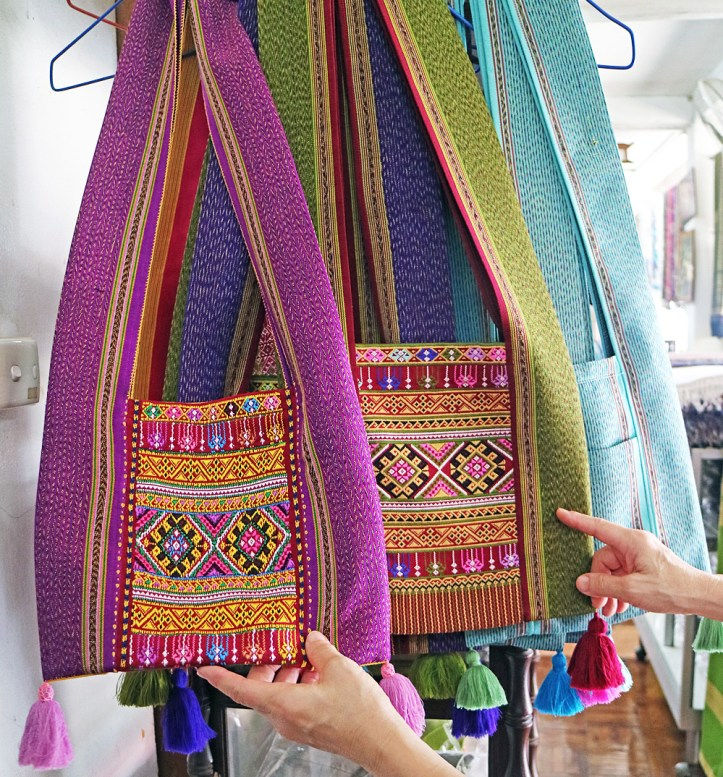 Hill Tribe handbag yaam