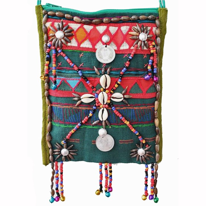 Hill tribe yaam purse
