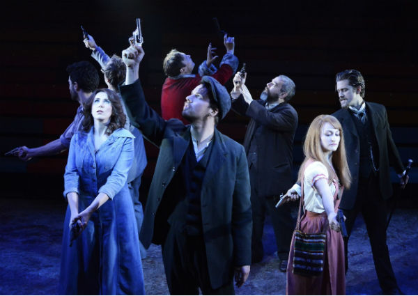 The all-star Assassins cast included Catherine Tate, Aaron Tveit, Mike McShane, Andy Nyman and Simon Lipkin - but it was MD Alan Williams who ensured Sondheim sounded so good