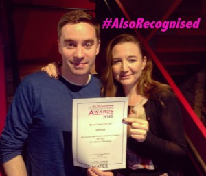 The Vote playwright James Graham and director Josie Rourke