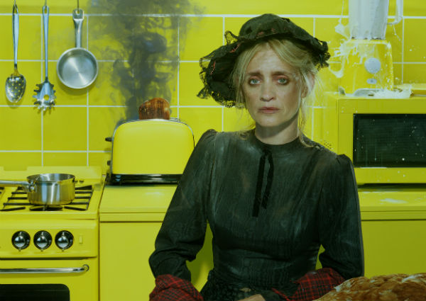 Anne-Marie Duff stars in Oil. © Miles Aldridge