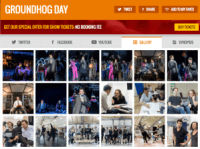 Find all social media (+ production shots) for Groundhog Day & its cast on www.stagefaves.com