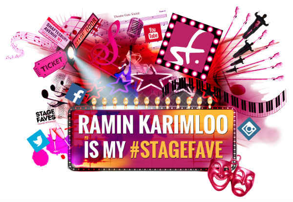The new StageFaves merchandise designed by Metin Salih. Available for Ramin Karimloo & 2,200+ other musical stars