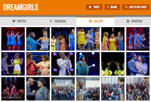 Get all social media (& show pics) for DREAMGIRLS & its cast on www.stagefaves.com