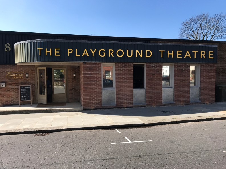 The Playground Theatre, founded in 2017, is created from a converted bus depot on Latimer Road in London W10