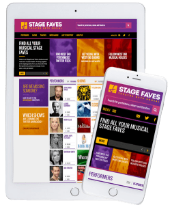 Get social media for all London musicals & their casts on www.stagefaves.com