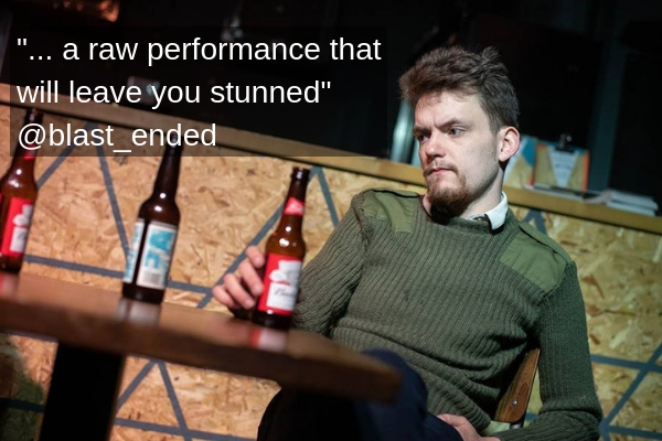 Loop was acclaimed at London's Lion & Unicorn Theatre in 2019