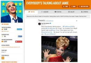 Get all social media for Everybody's Talking About Jamie & its cast on www.stagefaves.com