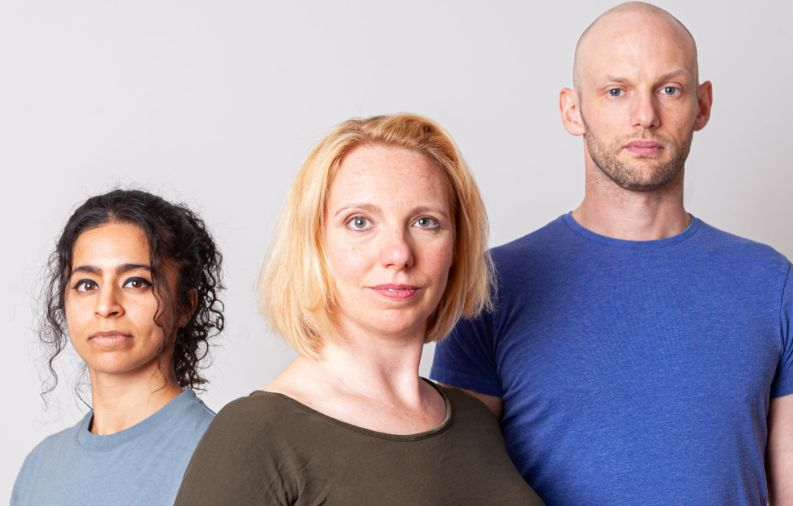 Rakhee Sharma, Gillian Dean & Gareth Kennerley star in Crystal Clear at the Old Red Lion Theatre