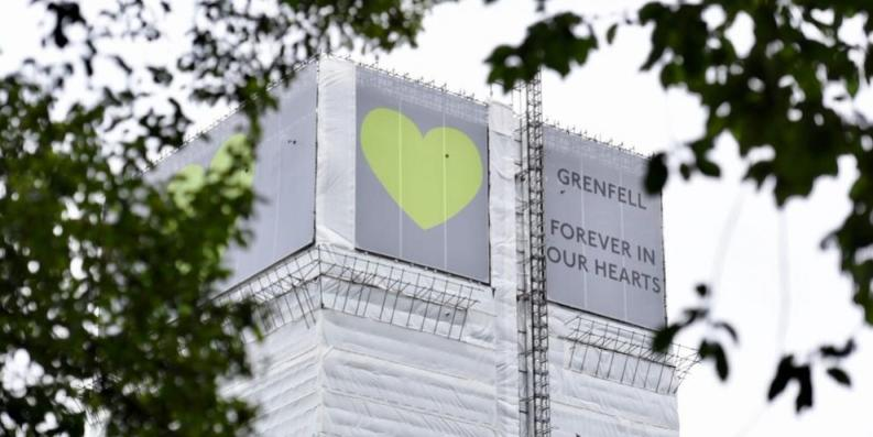 An Enemy of the People is performed in the shadow of Grenfell Tower in London