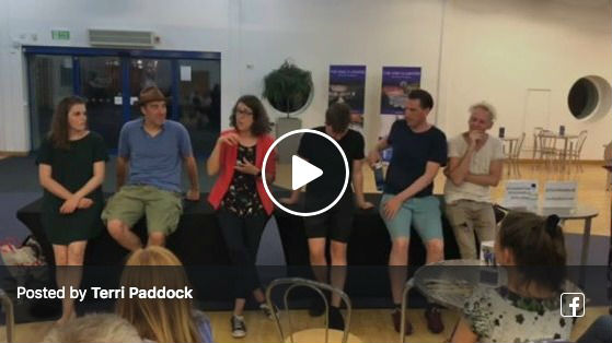 Mate Terri Paddock's post-show Q&A for Creation Theatre's The Tempest in Oxford, July 2019