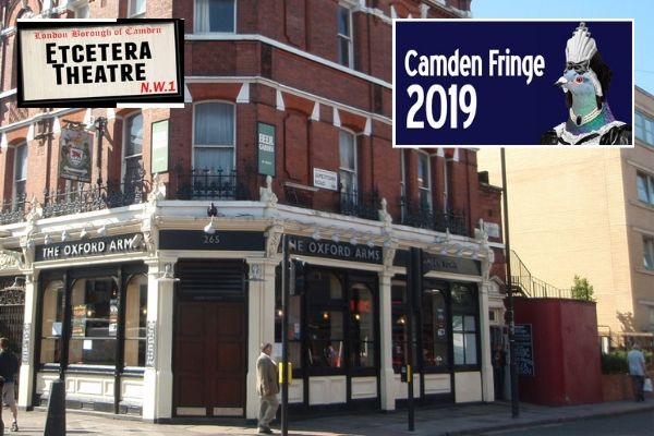 Camden Fringe launched at the Etcetera Theatre in 2006
