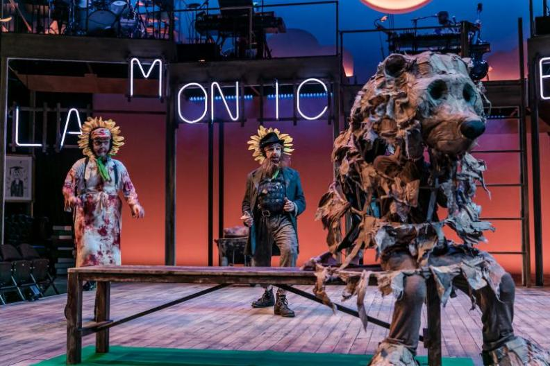 Mr Gum and the Dancing Bear - The Musical at the National Theatre. © The Other Richard