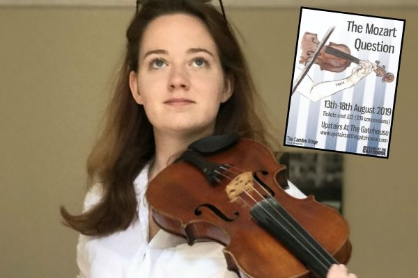 Olivia Wormald stars in The Mozart Question at Camden Fringe 2019