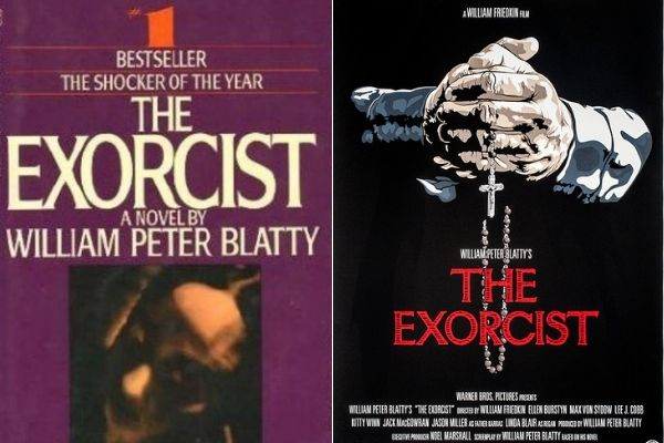 The 1971 novel of The Exorcist, inspired by a real-life 1949 exorcism, was made into a film in 1973