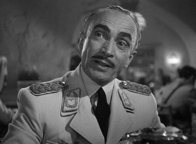 Conrad Veidt as Major Strasser in 1942's Casablanca