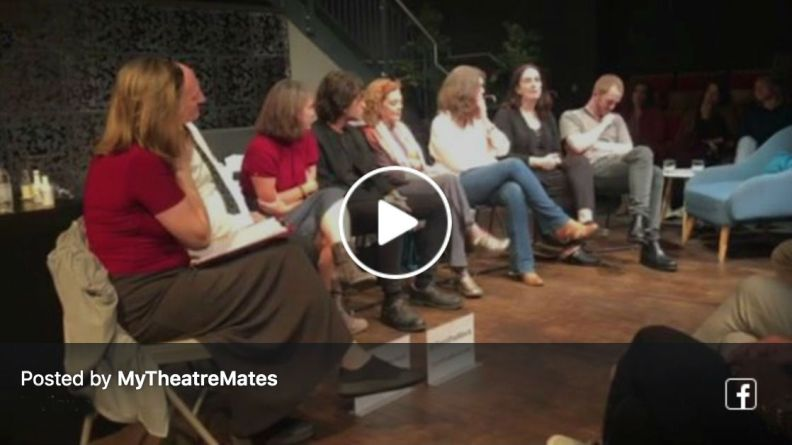 Watch Terri Paddock's post-show Q&A at the UK premiere of The Eyes of the Night at London's Cervantes Theatre