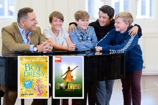 David Walliams on seeing his children's book The Boy in the Dress adapted as a musical by the Royal Shakespeare Company. © The RSC