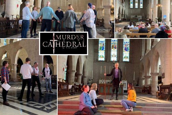 Scena Mundi's Murder in the Cathedral - Rehearsals montage - Oct 19