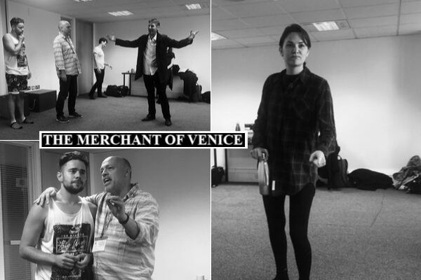 The Merchant of Venice rehearsals