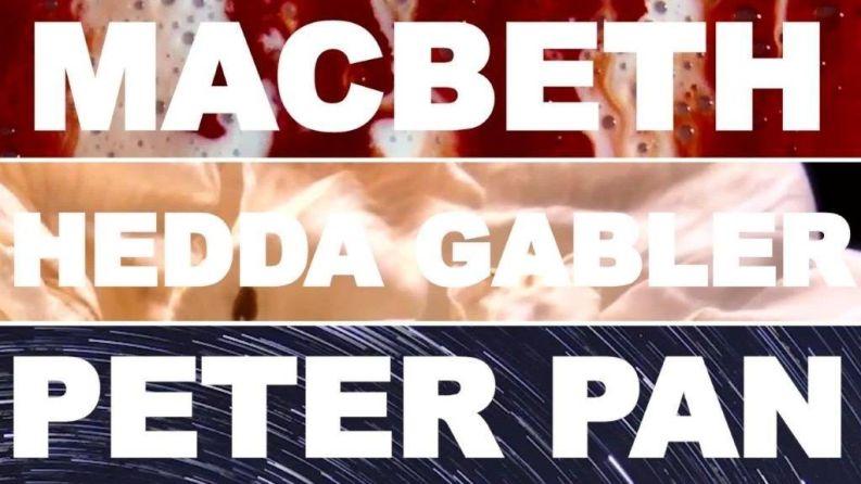 Lazarus Theatre's 2020 season at Greenwich Theatre comprises Macbeth, Hedda Gabler & Peter Pan