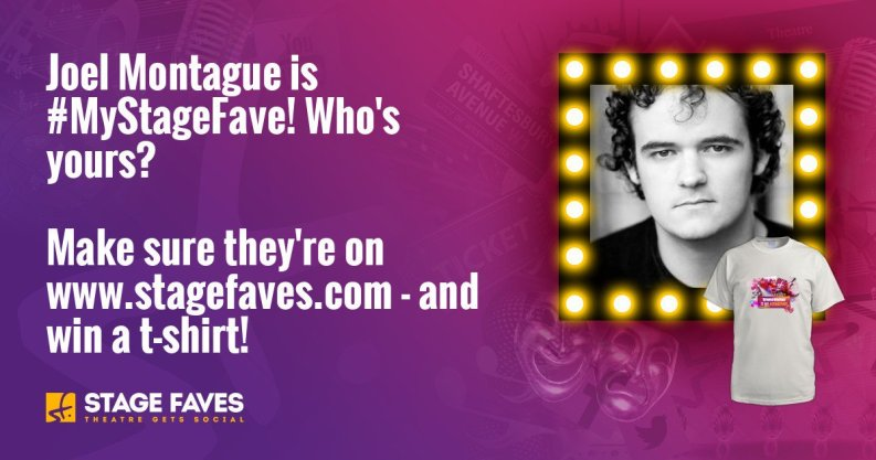 Get social media for Joel Montague & all the cast of Waitress on www.stagefaves.com